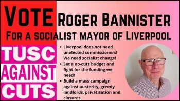 TUSC Liverpool mayor campaign, April 2021