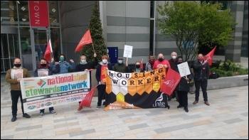 St Mungo's strike 26 April 2021