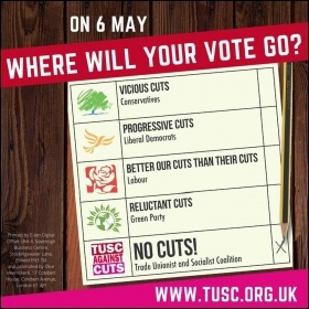 A TUSC election leaflet, May 2021