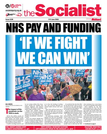 The Socialist issue 1136