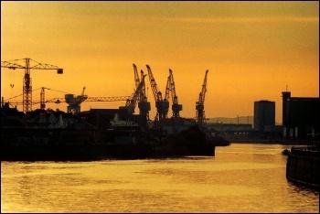 Upper Clyde shipyard