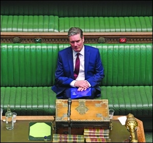 Labour Leader Keir Starmer UK ParliamentCC