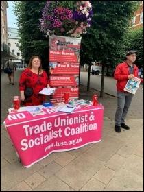 Paul Couchman campaigning, photo Nick Chaffey