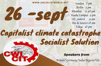 CWI rally, Sunday 26 September 2021, 14-00. Youtube.com/CWImedia