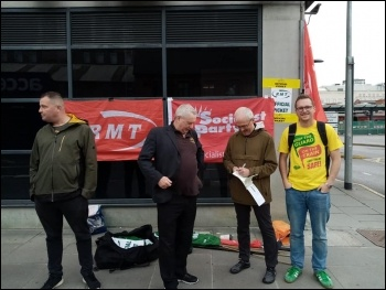 East Midlands Railway guards on strike
