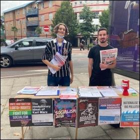 Socialist Students at London South Bank University