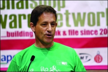 Martin Powell-Davis - Socialist Party member and candidate for NEU deputy general secretary demanding school safety on BBC news, 1 March