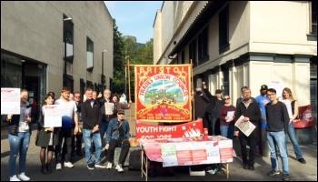 YFJ day of action, Bristol, 9.10.21