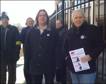 Mick Tosh (Right) TUSC Candidate, Portsmouth North