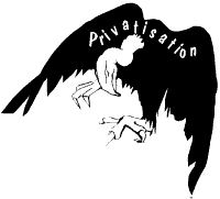 Privatisation vulture, photo Alan Hardman