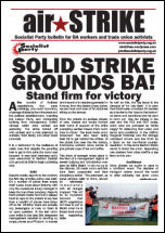Socialist Party leaflet