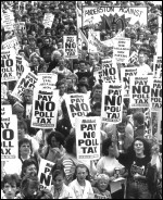 Poll Tax demonstration March 1990