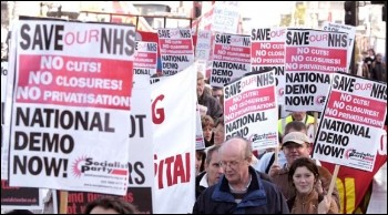Marching to defend the NHS
