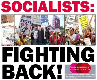 Socialists: fighting back