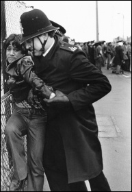 Southall in 1979. Police and the Special Patrol Group