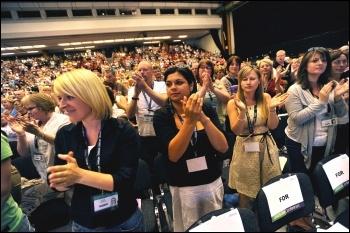 Unison conference 2009, photo Paul Mattsson