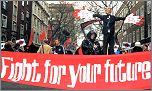 20 November 2003 anti-war demonstration, photo by Paul Mattsson