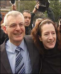 Joe Higgins and Clare Daly
