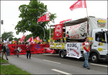 G8 demonstration in Rostock, Germany, photo SAV