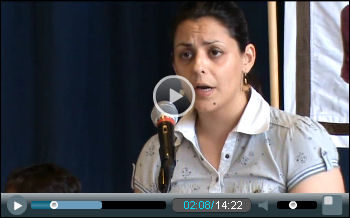 Video: Marianthi Kypridou, POE/YPPOT public sector union, Greece, speaking at NSSN conference.