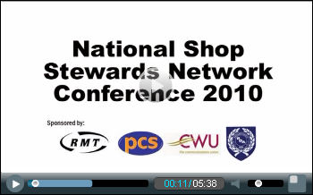 National Shop Stewards Network conference 2010