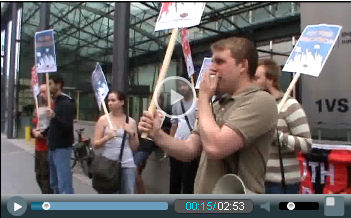 Video: Youth must fight for a future! Youth Fight for Jobs protest