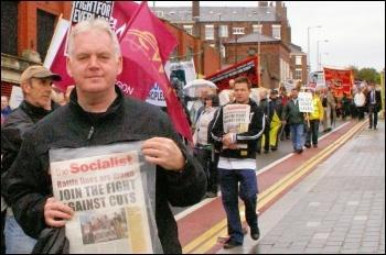 Trade unionists lobby Lib-Dem conference