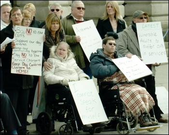 During recent reviews tens of thousands of disabled people were wrongly re-classified as fully fit for work or entitled to less benefit. , photo S Civi
