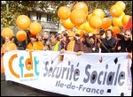 Demonstrations in France against attacks on pension rights, photo Judy Beishon