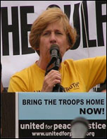 Cindy Sheehan, anti-war activist