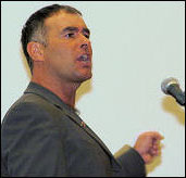 Tommy Sheridan speaking at Socialism 2006, photo Paul Mattsson