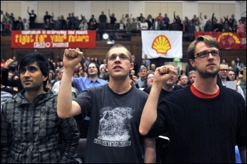 Socialism 2010 rally, photo Paul Mattsson