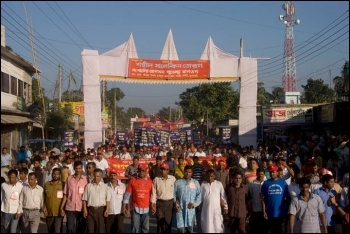 The long march in Bangladesh