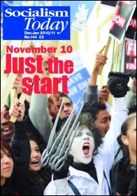 Cover of Socialism Today, No.144, December-January 2010/11