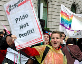 Gay Pride demo 2007