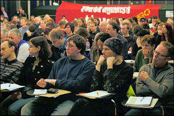 Socialist Pary congress 2007, photo Paul Mattsson