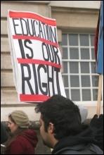 University of Nottingham students occupy