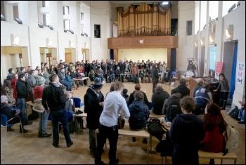Nottingham University students occupy
