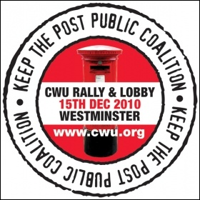Keep the post public coalition - CWU rally and Lobby