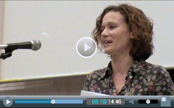 Hannah Sell, Socialist Party deputy general secretary, addresses Socialism 2010