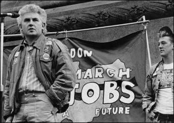 John Macreadie, deputy leader of CPSA, civil servants union, 1987