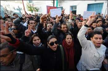 Tunisians defied the repressive forces of the state to overthrow the dictator, president  Ben Ali