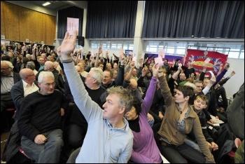 National Shop Stewards Network anti-cuts conference, photo Paul Mattsson