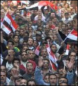 Egypt: masses arise