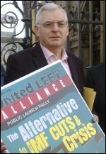 Socialist Party leader Joe Higgins
