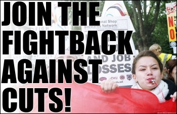 Join the fightback against cuts!, photo by Paul Mattsson
