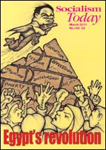 Socialism Today March 2011,  Cartoon by Suz
