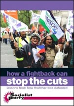 How a fightback can stop the cuts