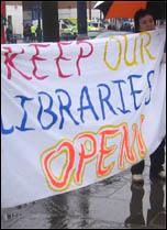 Lewisham protest against cuts, photo by Chris Flood