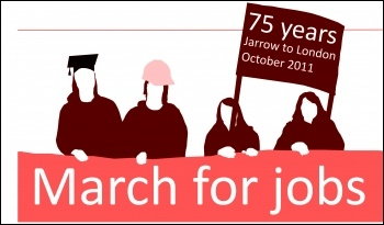 Youth Fight for Jobs march
